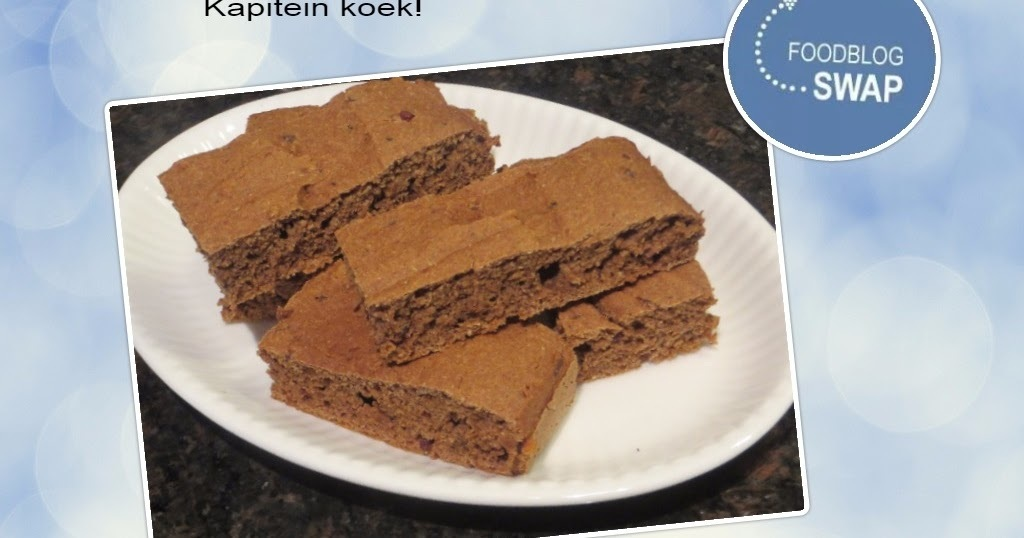 Kapitein-koek of schoolkoek!