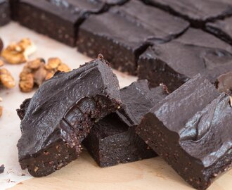 Healthy No-Bake  Brownies Recipe