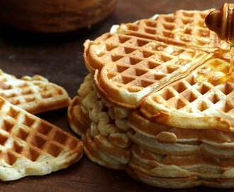 Homemade Waffles Recipe