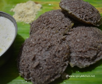 Ragi Idli Recipe | How to make ragi idli