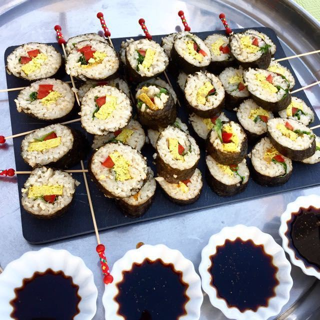 Makis Tofu Curry mangue