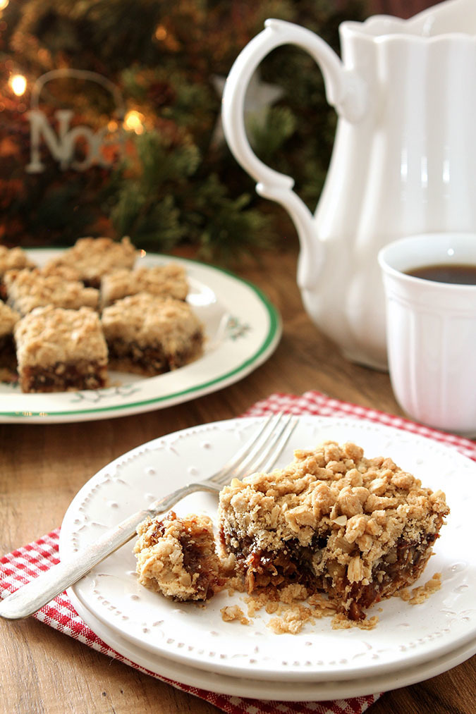 Old Fashioned Date Nut Bars Recipe