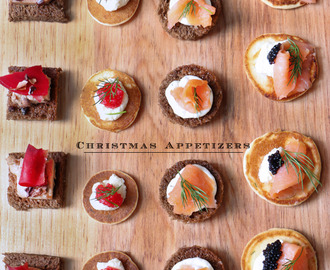 4 Christmas Appetizers  recipes