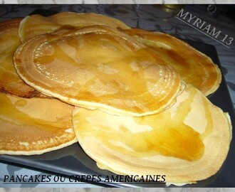 CREPES AMERICAINES OU PANCAKES