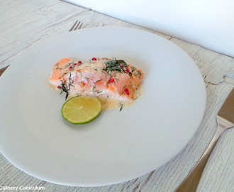 Saumon à l'aneth et au citron vert (Salmon with dill and lime)