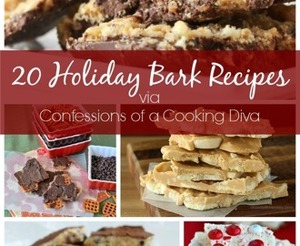 20 Holiday Bark Recipes