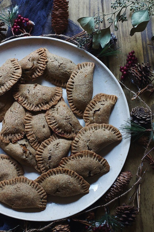 Black Bean-Squash Buckwheat Empanadas (Winter Solstice Tapas)