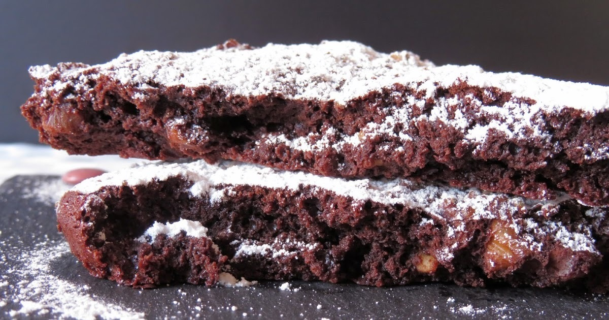 Brownie de chocolate negro (sin gluten)