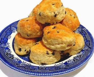 Bite-Size British Scones