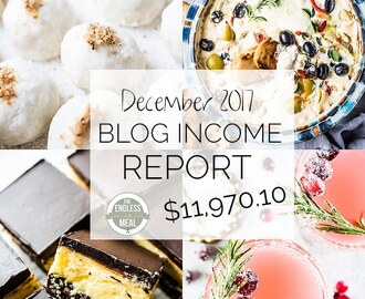 Blog Income Report – December 2017