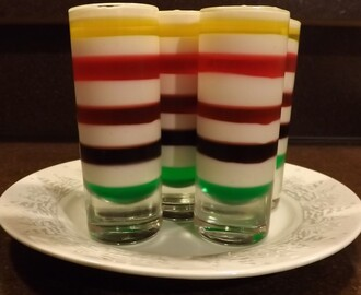 Mini Desserts #1 – Layered Jello