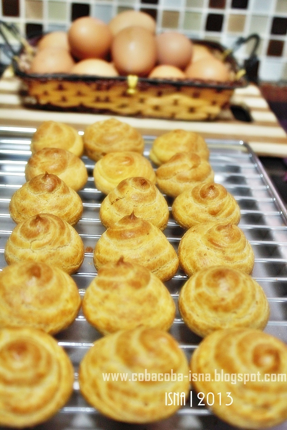 Soes/Choux Pastry