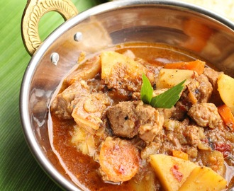 Curry d'agneau 'Bafat' (Inde)