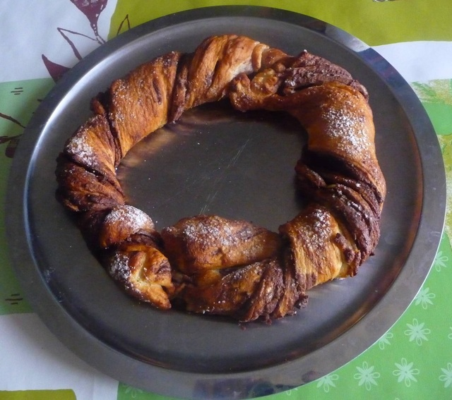 Couronne au Nutella
