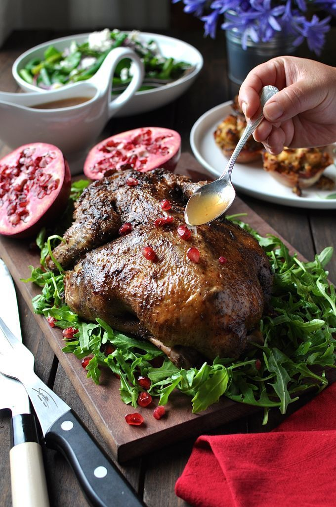Festive Duck with Apple Cider Drizzle (Easy)