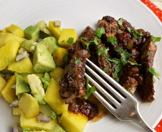 Paleo Spicy-Sweet Pork