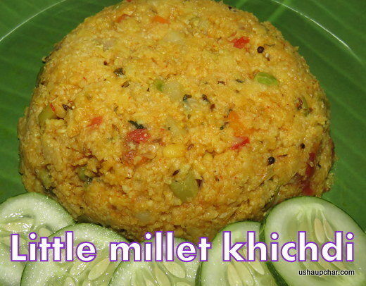 Little millet Khichdi