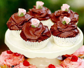 Leilas chocolate cupcakes
