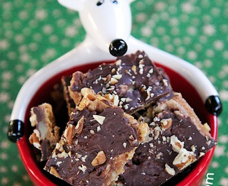 Guest Post- Chocolate Graham Cracker Brittle