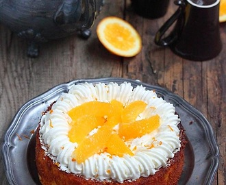 Gâteau à l'orange (sans gluten)