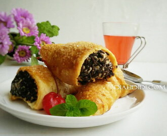 Puff Pastry Isi Vla Coklat