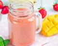 Strawberry-Mango Bliss | ProEnergy Whey Protein Shake