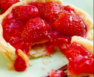 Resep Membuat Kue Strawberry Cheese Pie Super Enak