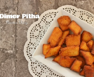 Dimer Pitha Recipe  | Flavour Diary | Bangladeshi Recipe | Fried Biscuit Recipe