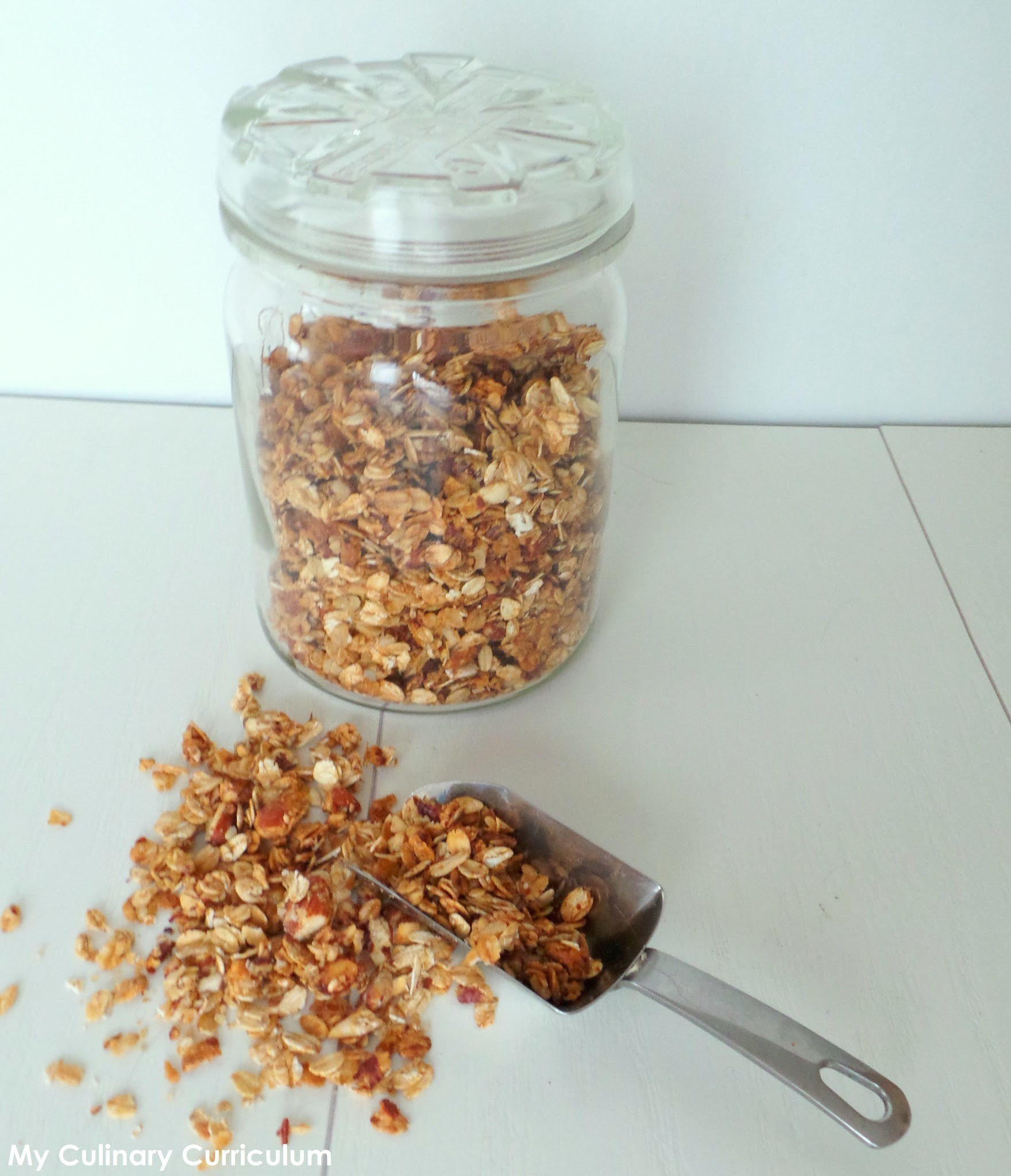 Granola maison (recette de base) (Homemade Granola (basic recipe)