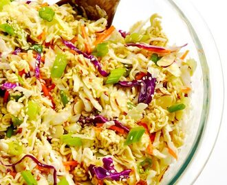 Asian Ramen Slaw (Easy, 10 Minute Recipe)