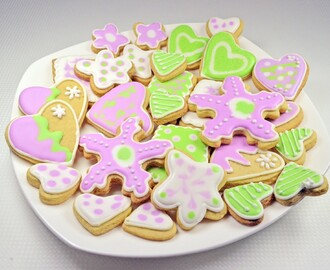Resep Membuat Butter Cookies Royal Icing Spesial Nikmat