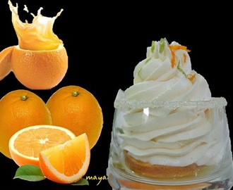 Crème chantilly à l'orange