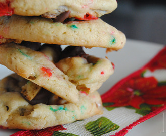 Recipe: Cake batter chocolate chip cookies
