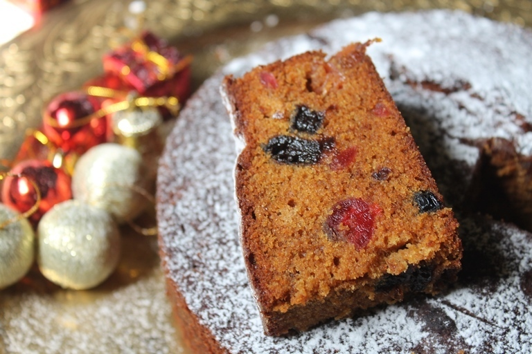 Christmas Fruit Cake Recipe / Rum Fruit Cake Recipe / Kerala Plum Cake Recipe