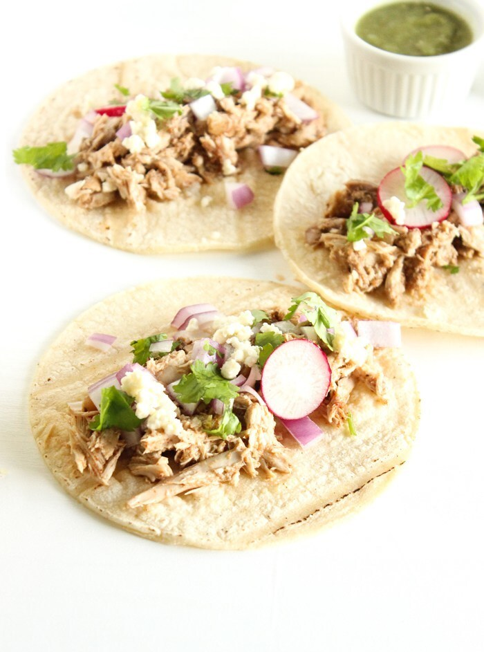 Pulled Quail Tacos