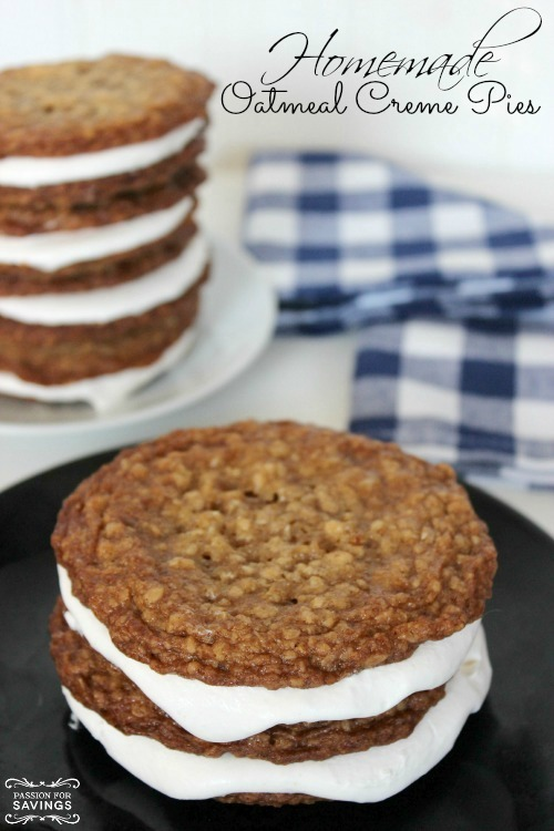 Homemade Oatmeal Creme Pies Recipe!