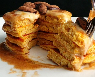 Low Carb Cinnamon Roll Pancakes with Infinite Labs Sweet Potato