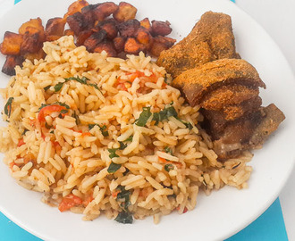 Flavourful, aromatic and scrumptious Nigerian Coconut Rice