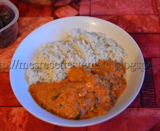 Poulet Makhani (indienne)