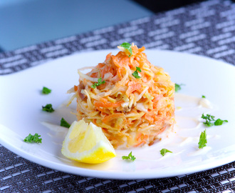 Big Oladunni's Coleslaw – with a snap and a zing