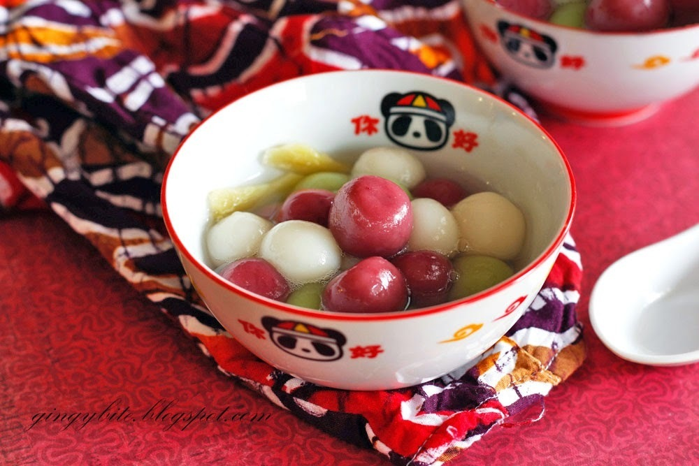 Winter Solstice Festival - Enjoy Tang Yuan With Natural Coloring 汤圆