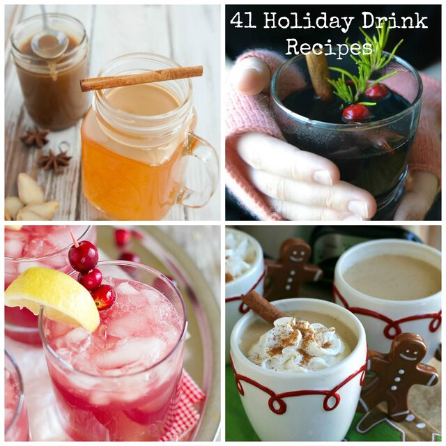 41 Holiday Drink Recipes