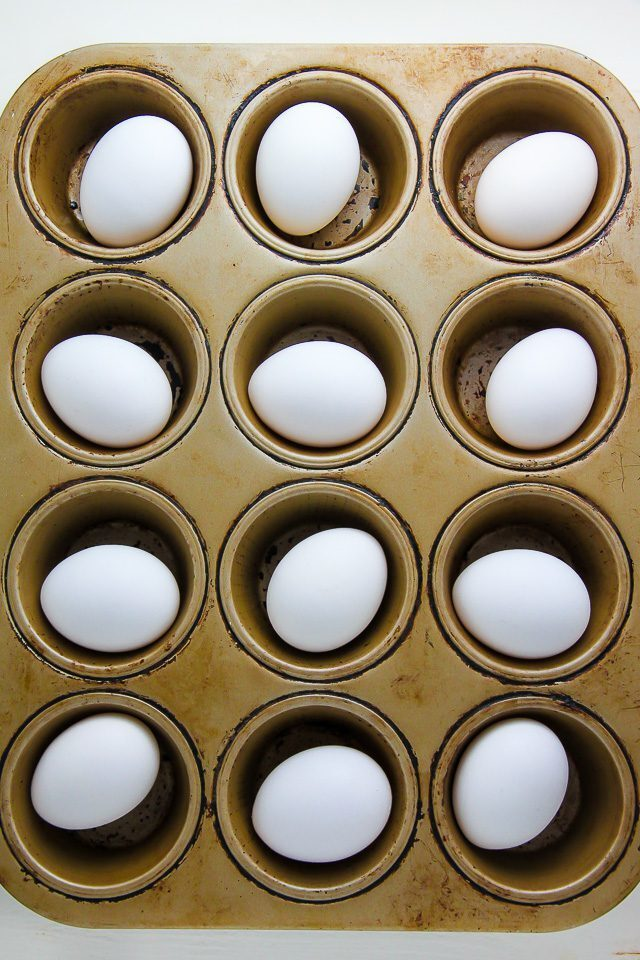 How to Use a Muffin Pan to Cook Hard Boiled Eggs