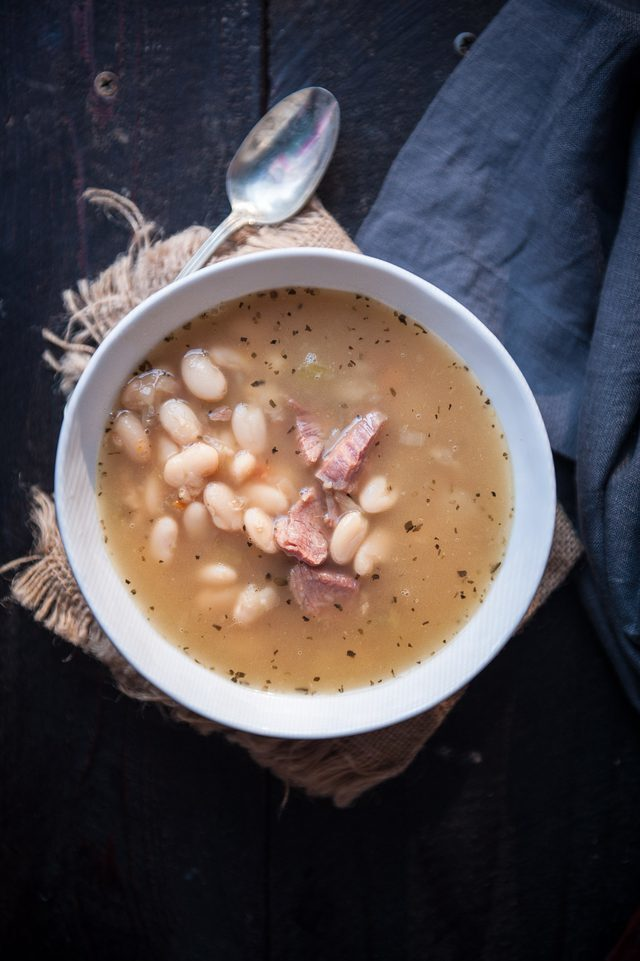 Homemade Ham and Bean Soup Recipe