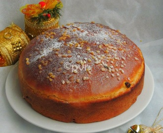 Julekake Version 2 - A Norwegian Christmas Bread