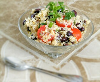 Zesty Quinoa and Black Bean Salad