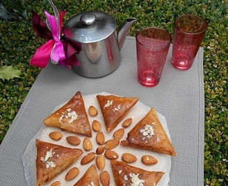 Triangles aux amandes ( Samsa)