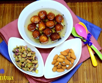Pantua | How to make Bengali Style Gulab Jamun