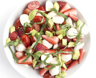 Strawberry Avocado Caprese Salad and a Giveaway!
