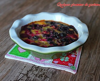 Gratin de fruits rouges simplissime